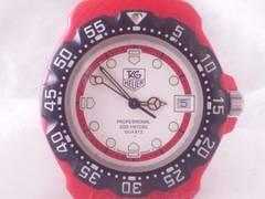 5759/TAGHEUERタグホイヤーフォーミュラーシリーズ★ブラック&レッドメンズ腕時計