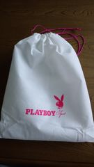 新品PLAYBOY巾着型袋便利なサイズ