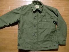 アメリカ軍 72年 A2 デッキジャケット Lサイズ