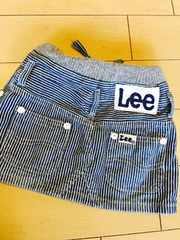 Lee kids キッズ デニム スカート サイズ100 状態キレイ