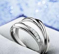 今回のみ3890円ペアリング2個セット婚約指輪AAA級ジルコニア