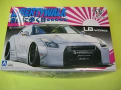 アオシマ 1/24 リバティーウォーク No.10 LBワークス R35 GT-R Ver.2 新品