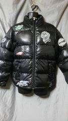 ☆ワッペン付き 中綿ジャケット M 未使用品 ダウン アメカジ ブラック