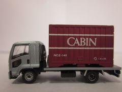 ザ・トラックコレクション第11弾 載替いすゞ゙コンテナ車キャビンコンテナ搭載-1