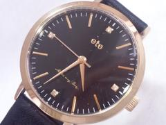 7716/ete男女兼用モデルブラックダイヤル人気の腕時計格安出品
