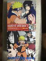 ナルト DVD-BOX �T・�Uセット 美品 NARUTO
