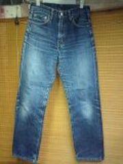 リーバイス502ビッグEセルビッチ色落ちジーンズ