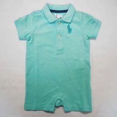 ラルフローレン ポロシャツ ショートオール 3M (60cm) ミント