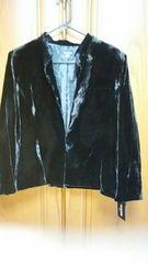 【大きいサイズ】とっても素敵なスーツ。黒。ロングスカート。新品15号