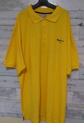 セールPepeJeansペペジーンズビッグポロシャツイエロー2XL