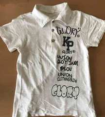 えり付き 半袖シャツ 130cm ポロシャツ 切手払い可能