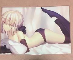 FGO Fate セイバーオルタ 同人ポスター
