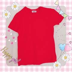 モバオクで買える「ウィルセレクション 赤色 Tシャツ」の画像です。価格は800円になります。