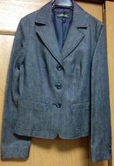 新品☆Mサイズ☆高級テーラードジャケット デニムジャケット