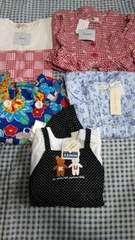《新品タグ付き》女児用ベビー服(90�pサイズ)(^^)v