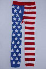 クール!USフラッグ柄ベビー用スパッツ/レギンス80-90星条旗USA