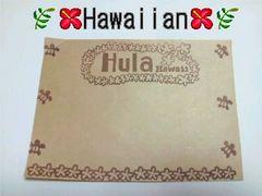 ハワイアン◆クラフト*メモ◆20枚◆【ホヌ*プルメリア】メッセージ書きに