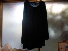 Tシャツ長袖3Lブラック新品