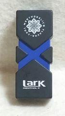 Larkラーク非売品ガスライター/ブラックxブルー新品