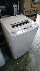 アクア 16年式 AQW-S60D 6kg 洗い 簡易乾燥機能付き洗濯機