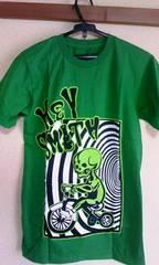 seedleSsグリーンTシャツ新品XS