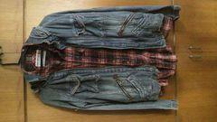 BONDS&PEACE いのうえんコラボ ジャケット&チェックシャツ