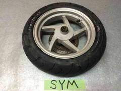 ☆ SYM symply50 シンプリー フロント タイヤ ホイール