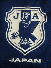 サッカー 日本代表 公式 Tシャツ ブルー ネイビー サラサラ 背番号 4 160