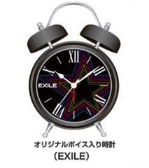 ♪EXILEボイス入り時計♪EXILE TETSUYA SECOND 二代目☆