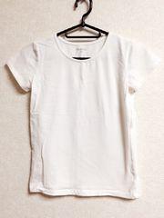シンプル白Tシャツ140