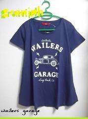 Graniph◇Aライン Tシャツ◇wailers garage◇新品未使用