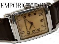 良品 1スタ★エンポリオ アルマーニ【クラシック】腕時計