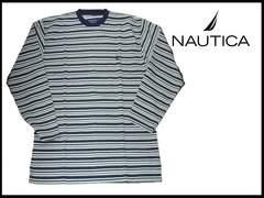 新品 NAUTICA ノーティカ  ロングT-シャツ