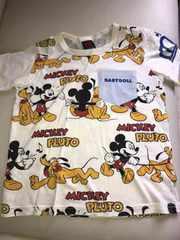 ベビードール 130 ミッキーコラボTシャツ