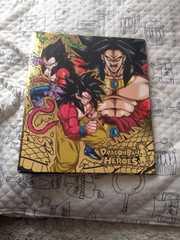 ドラゴンボールヒーローズ 中古バインダー オマケカード付き