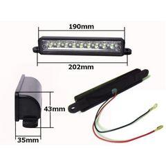 送料無料 ジムニー JA11/JA12/JA22/JB23 移設用 LEDナンバー灯