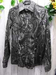 ★本物正規極美品エトロ 長袖シャツ 40サイズ(M約9号)