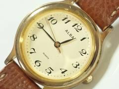 7257/SEIKOセイコー★アルバクラシックアラビア数字インディックスがお洒落な腕時計