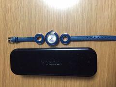 美品 フルラ Furla 腕時計 ブルー