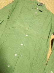モッシモ グリーン系シャツ