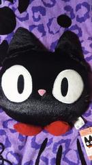 めちゃ可愛いジジ☆ダイカットクッション☆猫☆黒猫☆非売品☆