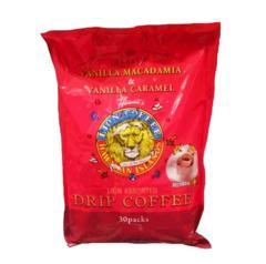 LION COFFEE(ライオンコーヒー) ドリップアソート30P バニラマカダミア/バニラキャラメル
