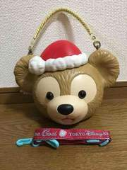 TDS ディズニーシー ダッフィーポップコーンバケット クリスマス