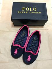 Polo Ralph Lauren*ポロ ラルフ ローレン*パンプス*キッズ