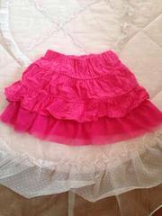 2段階フリル/スカート