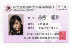 島崎遥香 マジすか学園5 学生証 AKB48 ソルト
