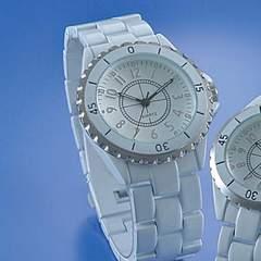 新品未使用高級ブラックorホワイト腕時計ビッグフェイス