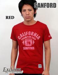 SANFORD(サンフォード)フットボールTシャツ/赤L アメカジ系