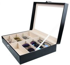 メガネ サングラス コレクション ケース 展示 8本 収納□