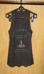 新品14th addiction DON'T JUDGE ME TANK 1 D,GRAY